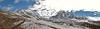 panorama Nevado Puca Punta and Nevado Colqur Cruz (Peru 2009, Teclla cocha 4800m - Abra Campo Pass 5030m - Pacchanta 4300m.  Auzangate )
