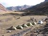 Campground 3 Auzangatecocha 4670m. (Peru 2009, Auzangatecocha 4670m.  Ausangate)
