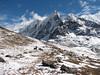 landscape near Nevado Puca Punta (Peru 2009, Teclla cocha 4800m - Abra Campo Pass 5030m - Pacchanta 4300m.  Auzangate )
