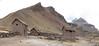 panorama landscape and storage-houses (Peru 2009, Auzangatecocha 4670m - Palomapass 5130m - Cerro Puca Punta 4480m - Teclla cocha 4800m. Ausangate)
