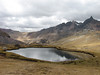 Lago Yanacocha (Peru 2009, Upispampa- Arapapass 4770m - Auzangate pass 4870m - Auzangatecocha 4670m. Ausangate)
