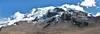 panorama Nevado Auzangate (Peru 2009, Auzangatecocha 4670m - Palomapass 5130m - Cerro Puca Punta 4480m - Teclla cocha 4800m. Ausangate)