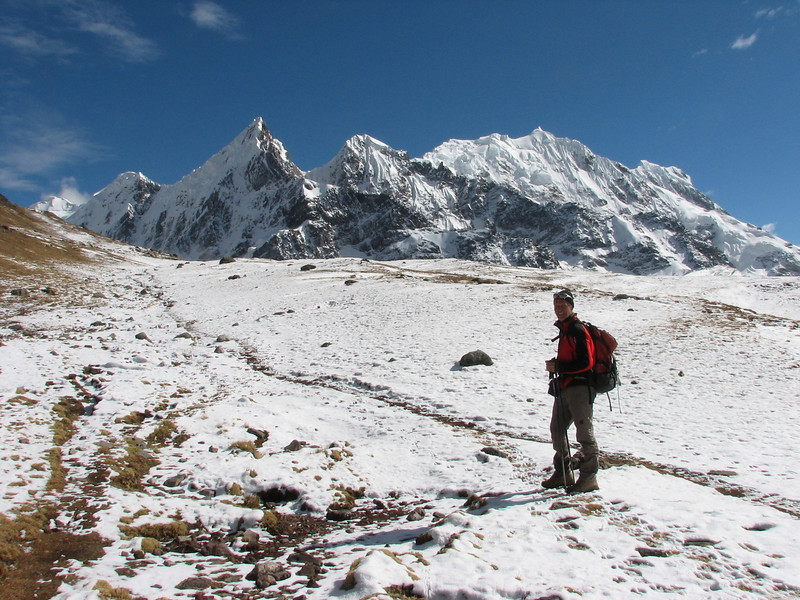 (Peru 2009, Teclla cocha 4800m - Abra Campo Pass 5030m - Pacchanta 4300m.  Auzangate )