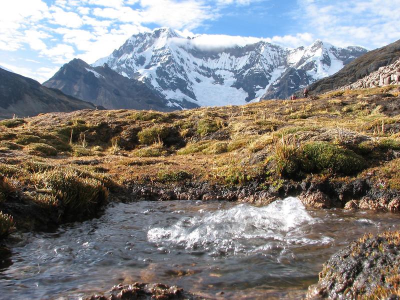 hot and cold springs (Peru 2009, Upispampa 4450m. Ausangate)