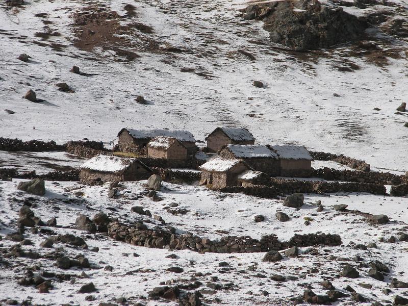 high mountain village (Peru 2009, Teclla cocha 4800m - Abra Campo Pass 5030m - Pacchanta 4300m.  Auzangate )
