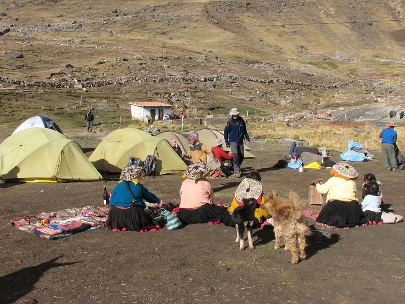 Campground 5,  Pacchanta 4300m. (Peru 2009, Pacchanta 4300m. Auzangate)