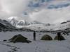 Campground 4, Teclla cocha 4800m.  (Peru 2009, Teclla cocha 4800m. Ausangate)