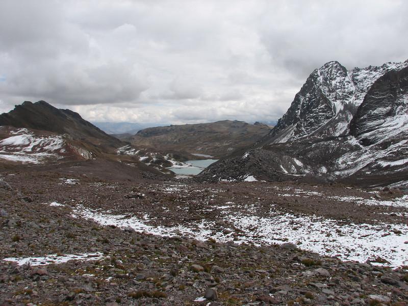 landscape with Lago Comerococha (Peru 2009, Teclla cocha 4800m - Abra Campo Pass 5030m - Pacchanta 4300m.  Auzangate )