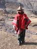 farmer with Andean poncho (Peru 2009, Upispampa- Arapapass 4770m - Auzangate pass 4870m - Auzangatecocha 4670m. Ausangate)