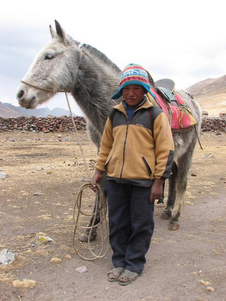 (Peru 2009, Auzangatecocha 4670m - Palomapass 5130m - Cerro Puca Punta 4480m - Teclla cocha 4800m. Ausangate)