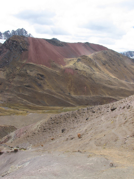 landscape (Peru 2009, Auzangatecocha 4670m - Palomapass 5130m - Cerro Puca Punta 4480m - Teclla cocha 4800m. Ausangate)