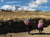 landscape with the the Nevado Jatunuma masif (Peru 2009, Tinqui 3900m - Upispampa 4450m. Auzangate)