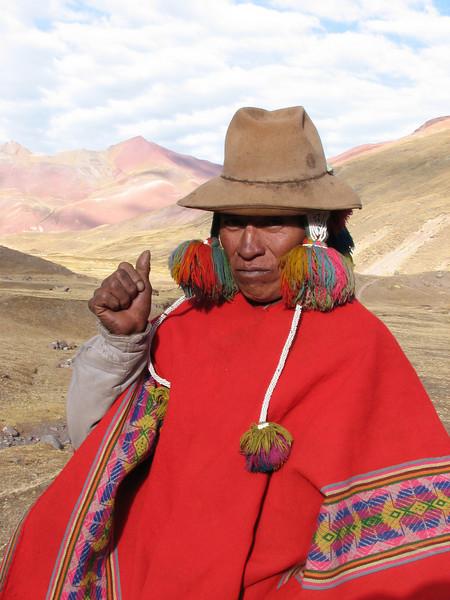(Peru 2009, Upispampa- Arapapass 4770m - Auzangate pass 4870m - Auzangatecocha 4670m. Ausangate)