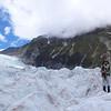 Max at Victoria Flat on the Fox Glacier