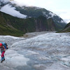 Tiff on the lower Fox glacier