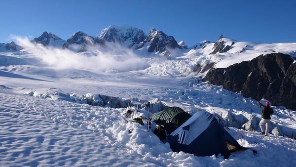 Lendenfeld Peak (featuring Mt Tasman) 7-11 December 2011
