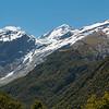 Aspiring and French Ridge from Shovel Flat