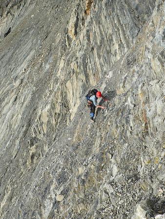 Mt Huxley 20-22 April 2012