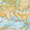 "Bluewater Route and Sefton topo. The route is described at <a href=""http://climbnz.org.nz/nz/si/main-divide-of-the-southern-alps/mt-sefton/bluewater-route-to-welcome-pass"">http://climbnz.org.nz/nz/si/main-divide-of-the-southern-alps/mt-sefton/bluewater-route-to-welcome-pass</a> and is a well marked, pretty well cut track up through the bush from a large cairn on a terrace at the 600m contour in Scott Creek. From the bush line the track is cut but less well marked as it gains an obvious spur which is followed to around the 1260m mark. Minimal water is available except at the 800m contour and once in the basin below Pts 1800 and 1784. A good bivvy ledge for two people with some water in a muddy/mossy tarn exists at around the 1220m contour on the cut route. If anyone heads up there take flagging tape for the scrub please - this route is a great asset!"