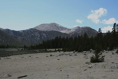Trailmaster Peak from Horseshoe Meadow.