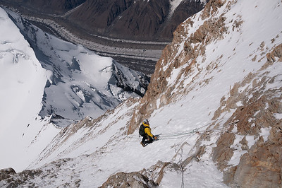 High on Khan Tengri, Tien Shan