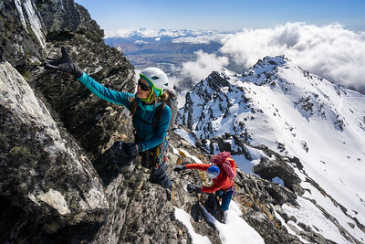 Scrambling on the Remarkables