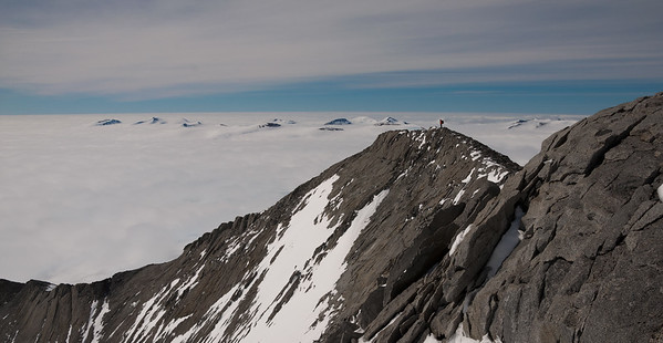 First Ascent of Mount Strong, Palmerland, Antarctica