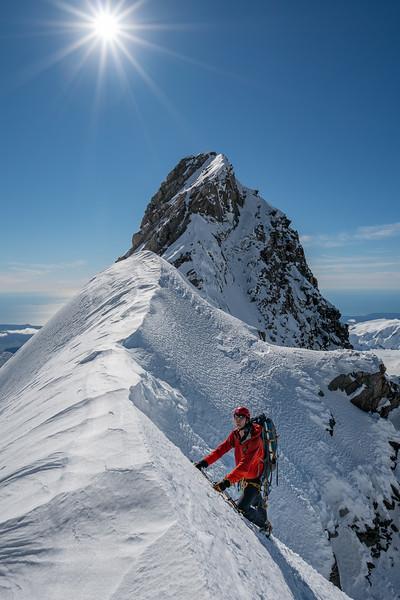 Mt Haast Summit Ridge