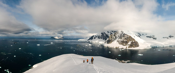 South Ridge of Leonie, Ryder Bay, Antarctica
