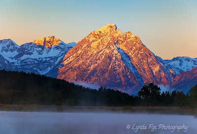 Mountains Kissed By Morning Mist