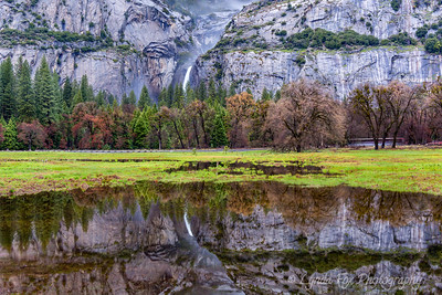 Bridalveil Falls Reflections