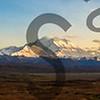Sunset Alaska Range