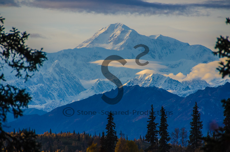 Sunset Denali