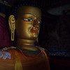 Shakyamuni (the historical Buddha) in Shey palace, Ladakh