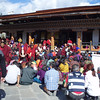 ceremony at the Memorial Chorten, Thimphu, Bhutan