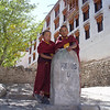 young monks at Hemis, Ladakh