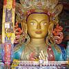 Maitreya (the future Buddha) in Thiksey goempa, Ladakh
