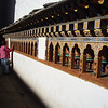 prayer wheels at Paro Dzong, Bhutan