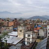 mountains around Kathmandu, Nepal - we never did see the snow-covered peaks through the rain