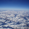 the Karakoram range, Ladakh, from the plane