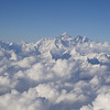 Mt. Everest, from the plane