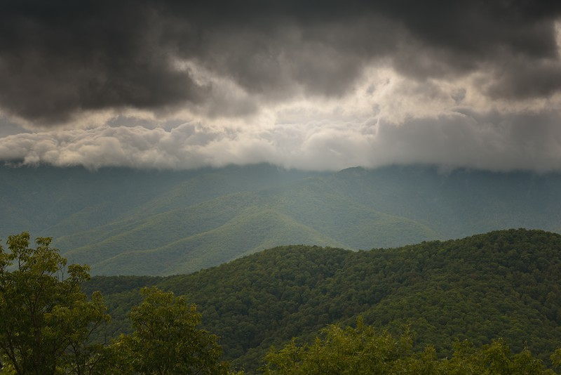 Blue Ridge Parkway Storm Approaching #2