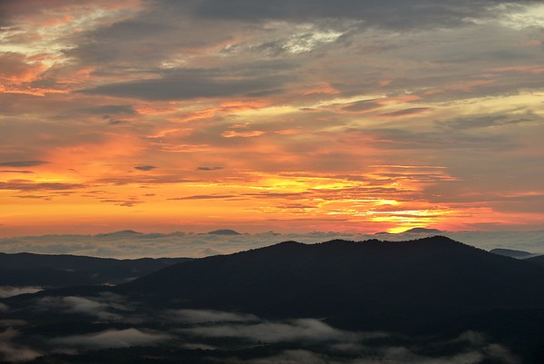 Sunset in the Smoky Mountains #2