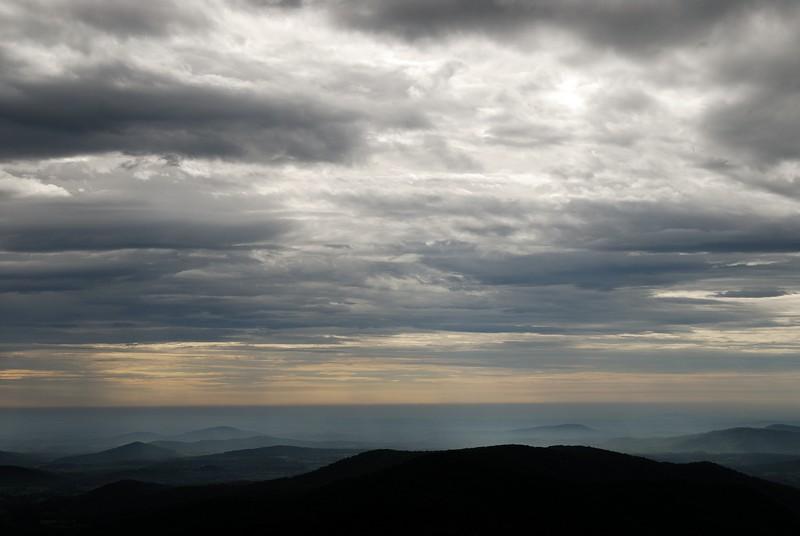 Shenandoah National Park Morning Rainstorm #1