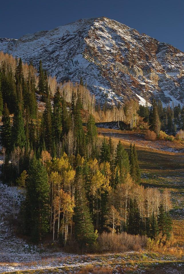 Utah Mountains at Sunrise