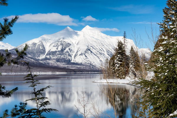 Glacier National Park Winter 2018