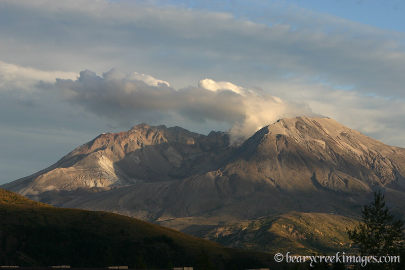 Mount Saint Helens National Volcanic Monument - 2007<br /> <br /> Last Light