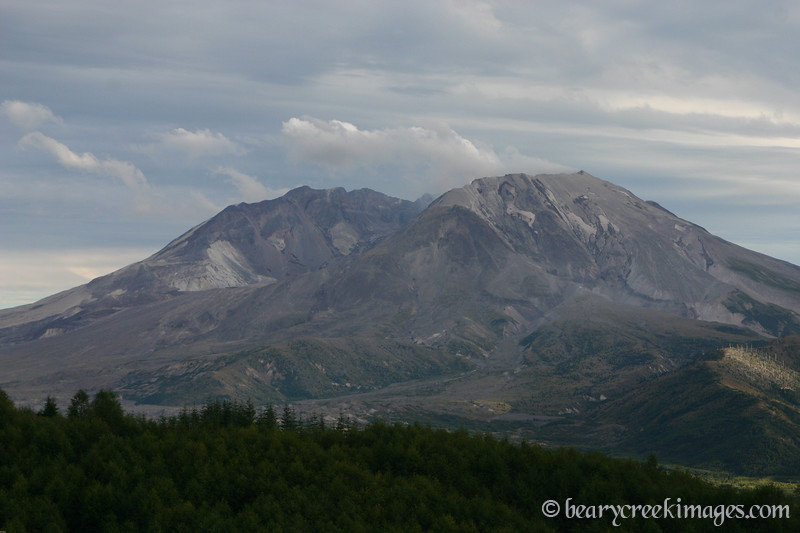 Mount Saint Helens National Volcanic Monument - 2007<br /> <br /> From the North