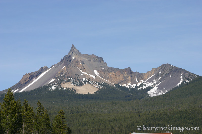Mount Thielson, near Crater Lake, Oregon