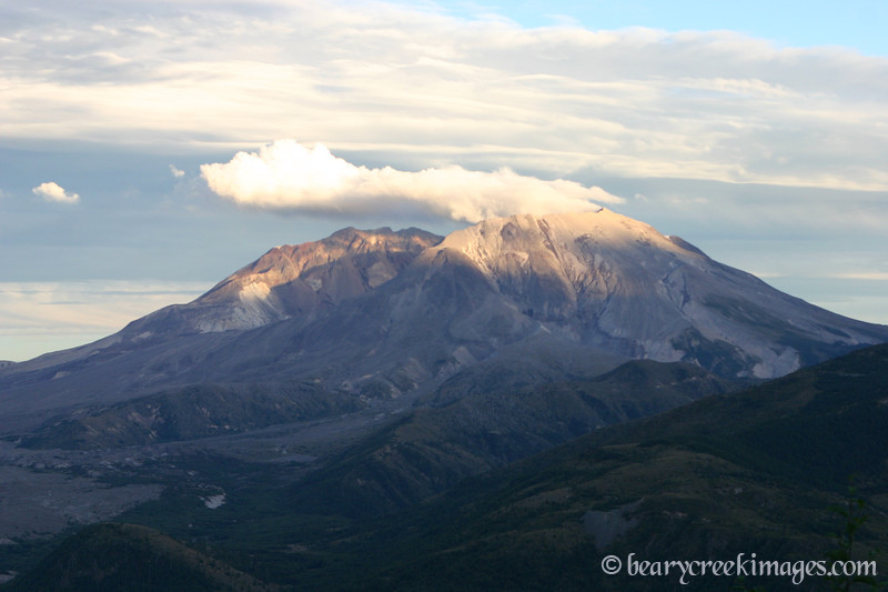 Mount Saint Helens National Volcanic Monument - 2007<br /> <br /> The End of the Day